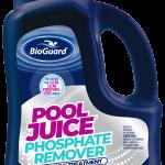 pool juice weekly bottle for phosphate removal